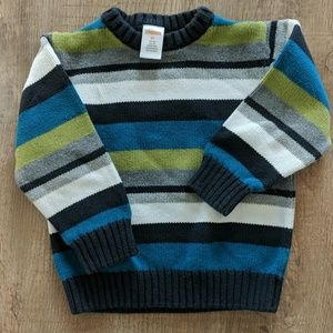 Gymboree striped sweater 2t
